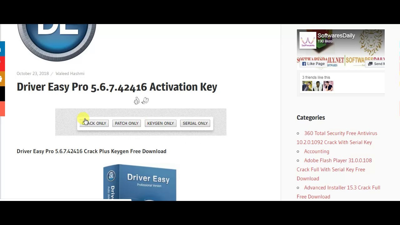 easy driver pro serial key free